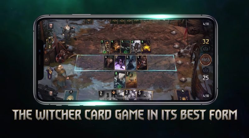 Gwent mobile game